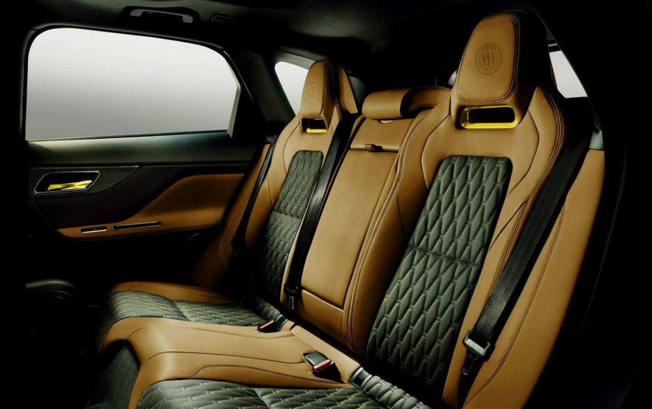 Lister LFP Interior Jaguar F-Pace