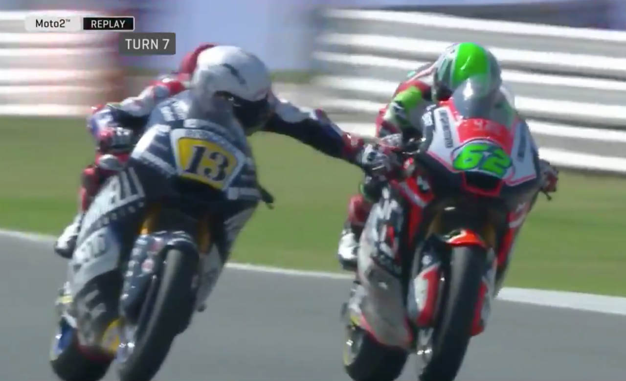Romano Fenati Incident