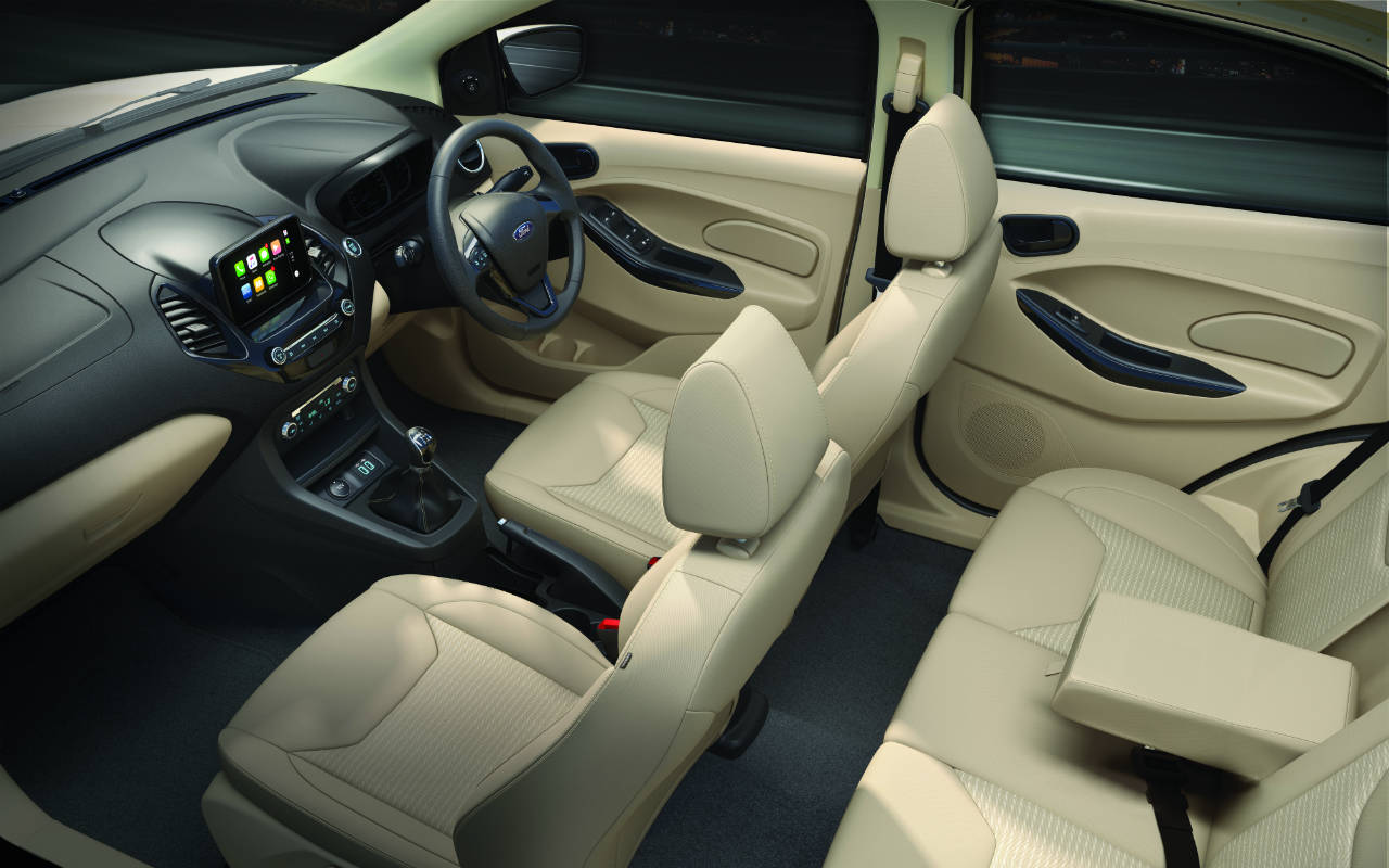 2018 Ford Aspire Interior