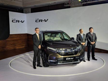 Honda CR-V Launched