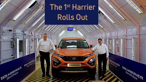 Tata Harrier Production