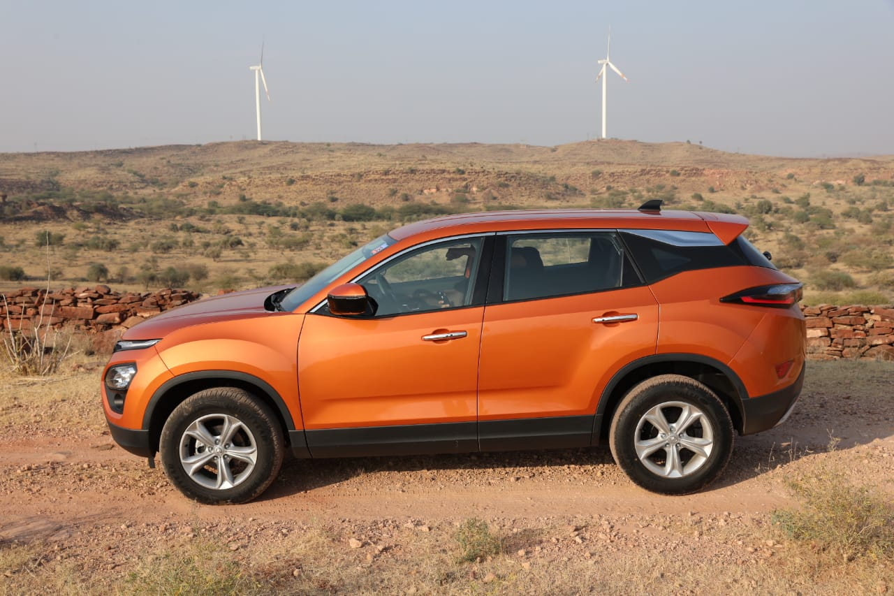 Tata Harrier Side