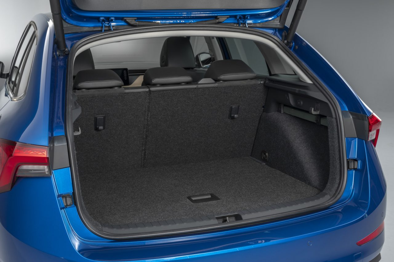 Skoda Scala Boot Space