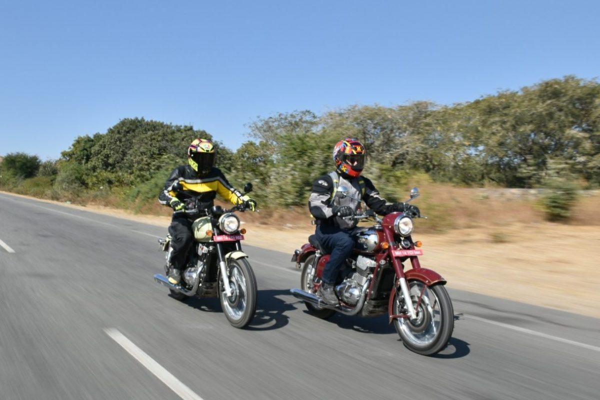 Jawa and Jawa Forty Two First Ride
