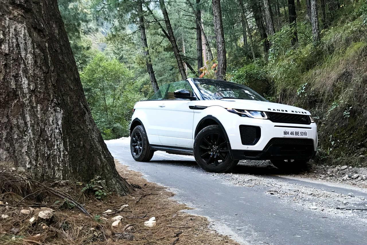 Range Rover Evoque Convertible Travel Himalayas