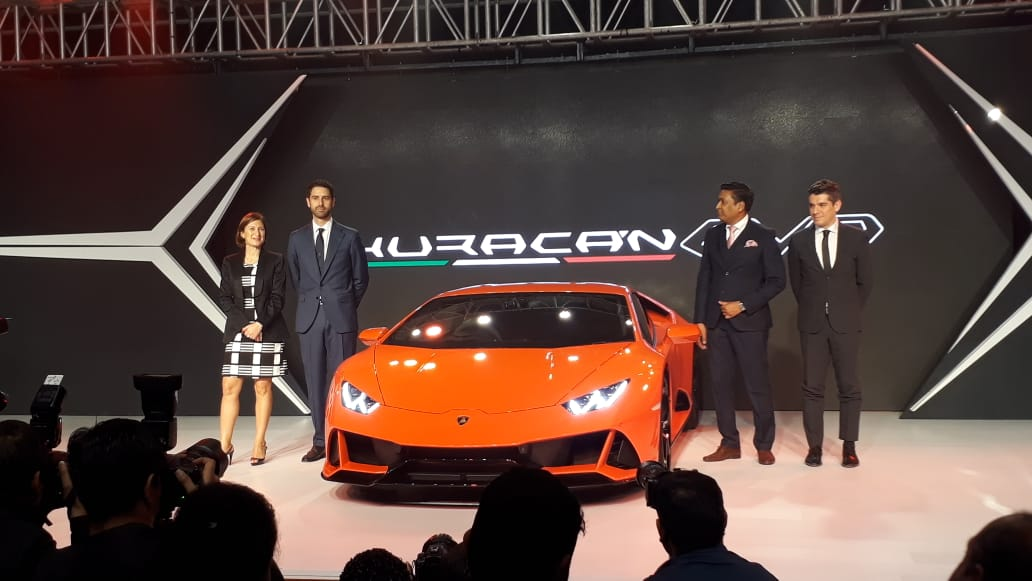 Lamborghini Huracan Evo Launched In India Motoring World