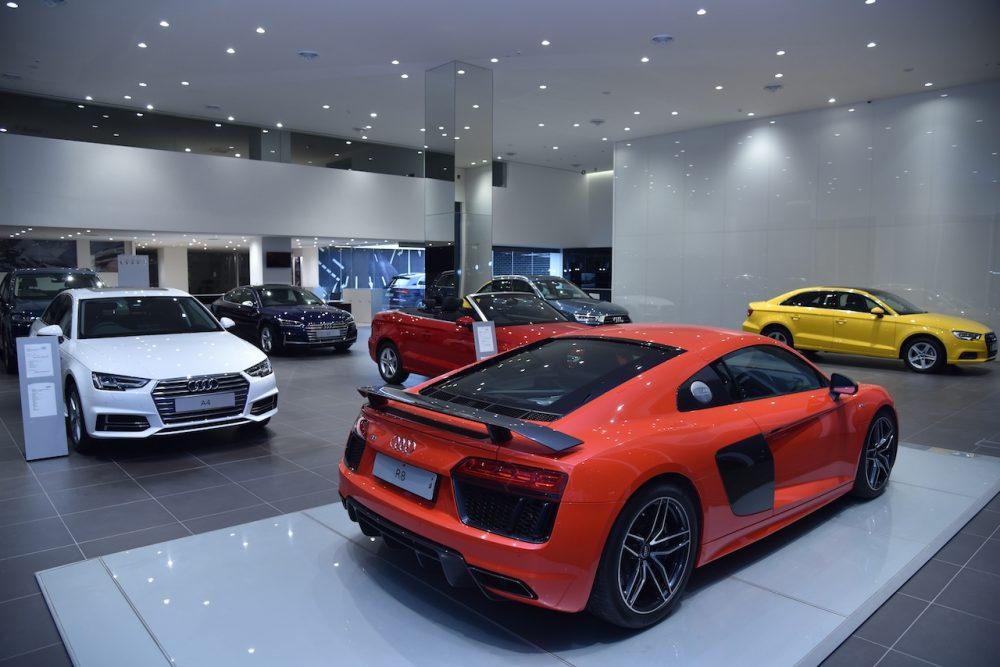 Audi Hyderabad Showroom