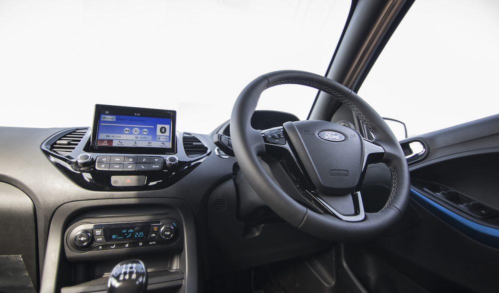 New Ford Figo India interior