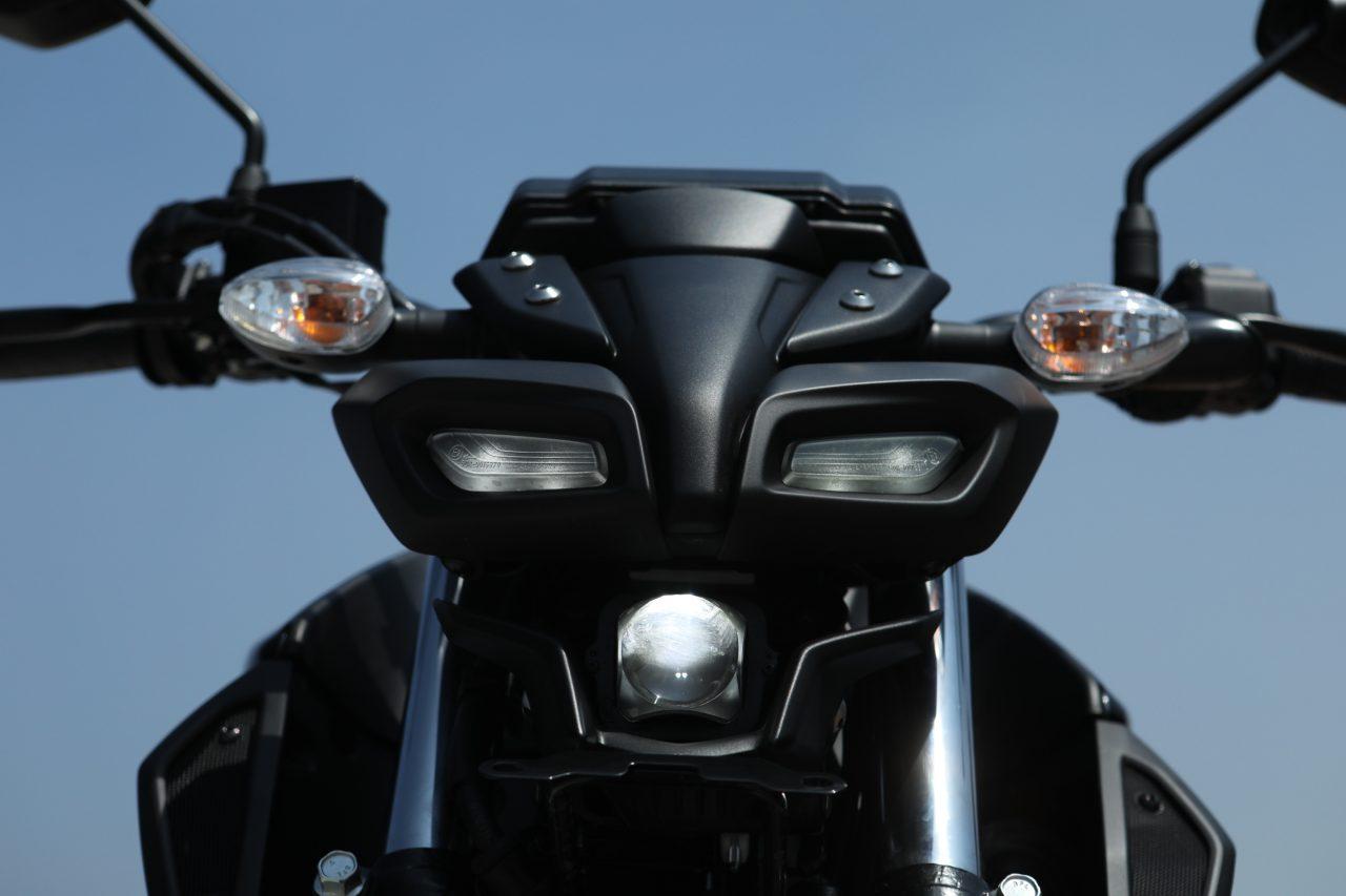 Yamaha MT-15 Review Headlamp