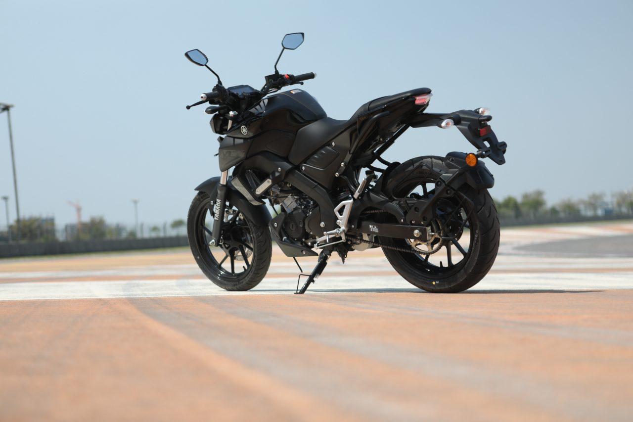 Yamaha MT-15 Review Rear