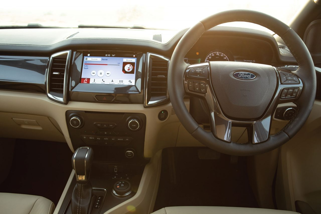 2019 Ford Endeavour/Everest Interior