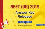 NEET- UG 2019 Answer Key Released: Know how to Challenge