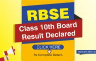 RBSE Class 10th Board 2019 Results Declared! Check complete details here