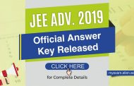 JEE Advanced 2019 Official Answer Key Released | check Complete Details