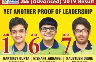 ALLEN Classroom Student Kartikey Gupta tops JEE Advanced 2019: 3 students of ALLEN in the top 10 AIR