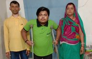 ALLEN Student Sajan, who walks with a crutch is all set to become a doctor despite his physical weakness