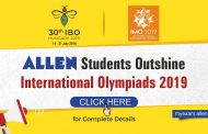 Students of ALLEN Career Institute bagged Silver Medals in IMO & IBO 2019