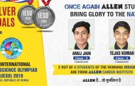 ALLEN Students proved their Excellence in 13th International Earth Science Olympiad