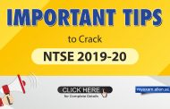 Preparation Tips for NTSE 2019-20