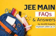 JEE Main queries and their solutions by ALLEN experts |  JEE Main 2020 Question & Answers