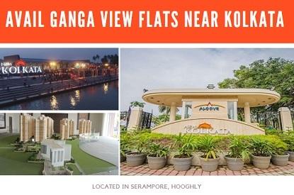 ganga view flat near Kolkata
