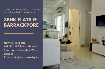 3 bhk flat at Barrackpore