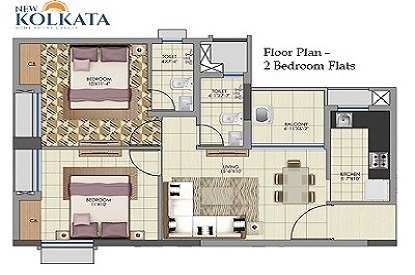 2BHK flats in Serampore