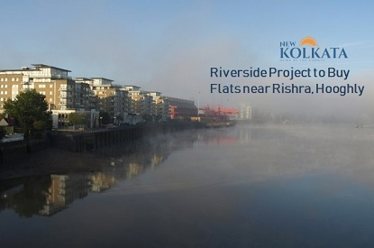 riverside flat in rishra hooghly