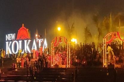 Kolkata Riverside Ganga Aarti