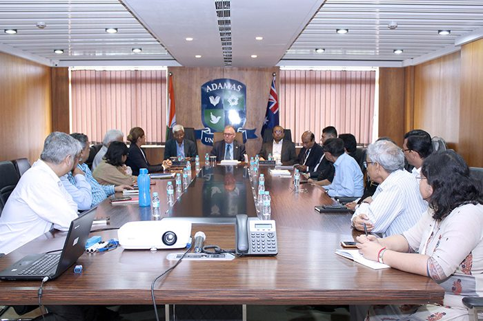 Consul-General of Australia in Kolkata Hon'ble Mr. Andrew Ford visits Adamas University