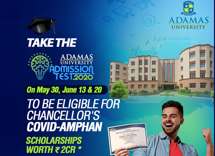 Adamas University Announces COVID-Amphan Scholarships