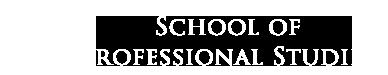 School of Professional Studies