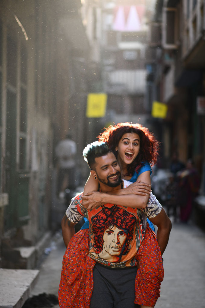 bollywood-vicky-kaushal-interview on sets of-manmarjiyan-movie