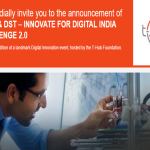 Announcing the 2nd Edition of Intel-DST – Innovate for Digital India Challenge