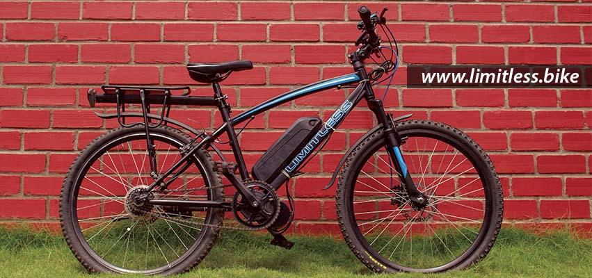 Limitless Bike – India's first Electrical Bike - Start-Up
