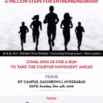 Million Steps for Entrepreneurship by Tie Hyderabad and T-HUB