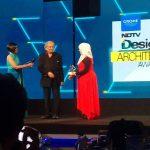 Designaware founder Takbir Fatima bags Emerging Architect of the Year 2016 Award