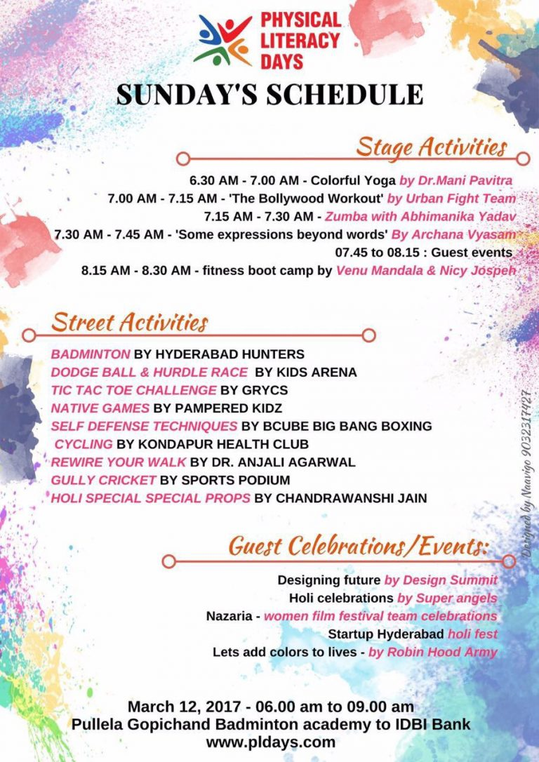 this holi let's get drenched with joy at physical