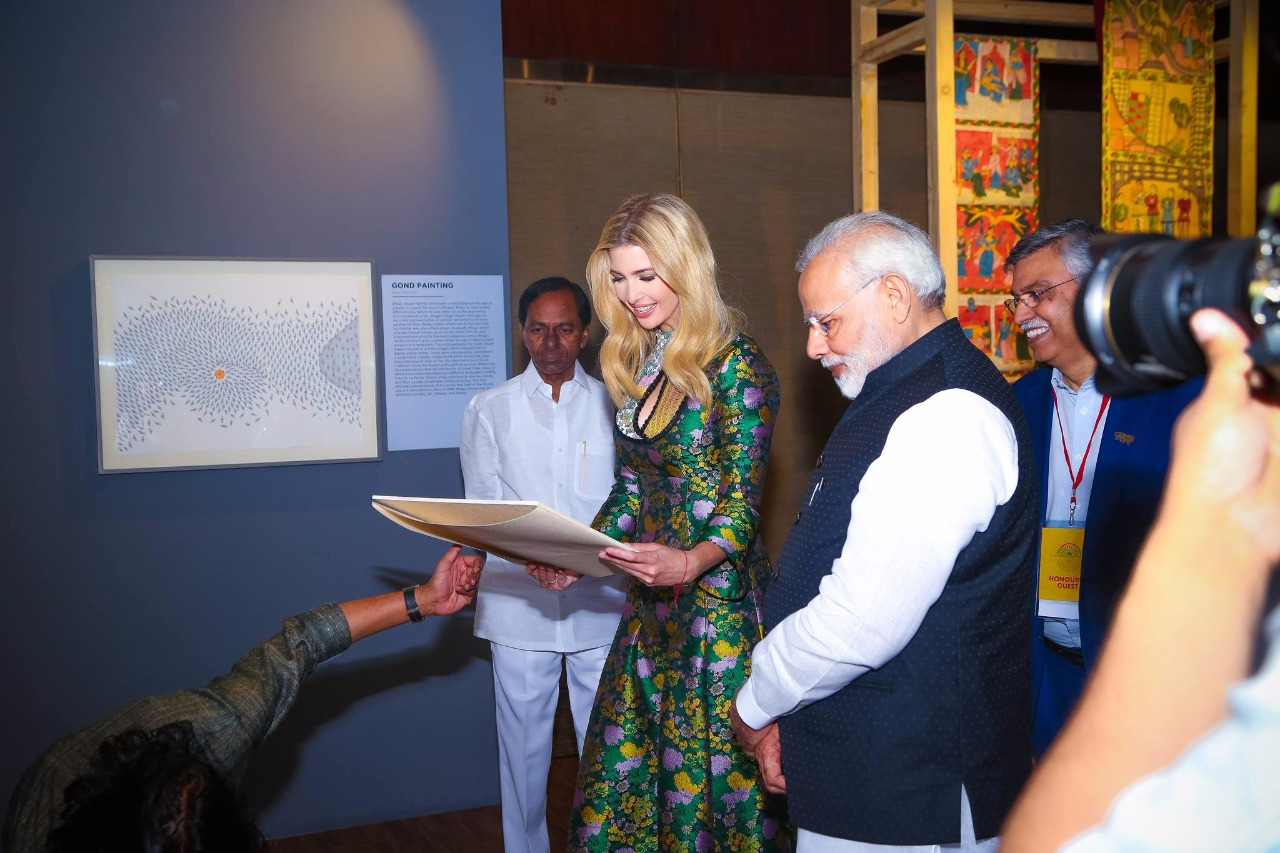 ges 2017 narendra modi