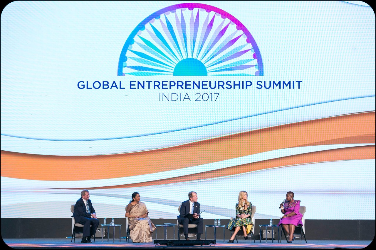 ges panel discussion moderated by ivanka
