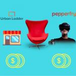 Furniture glams :Pepperfry raised 250 crores and Urban ladder raised $12 Million