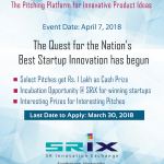 SRiX's Innovation X 1.0 – The Pitching Platform