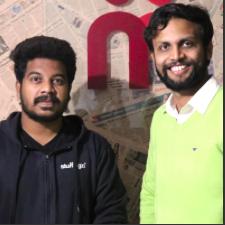 From left: Freddy & Sri Charan