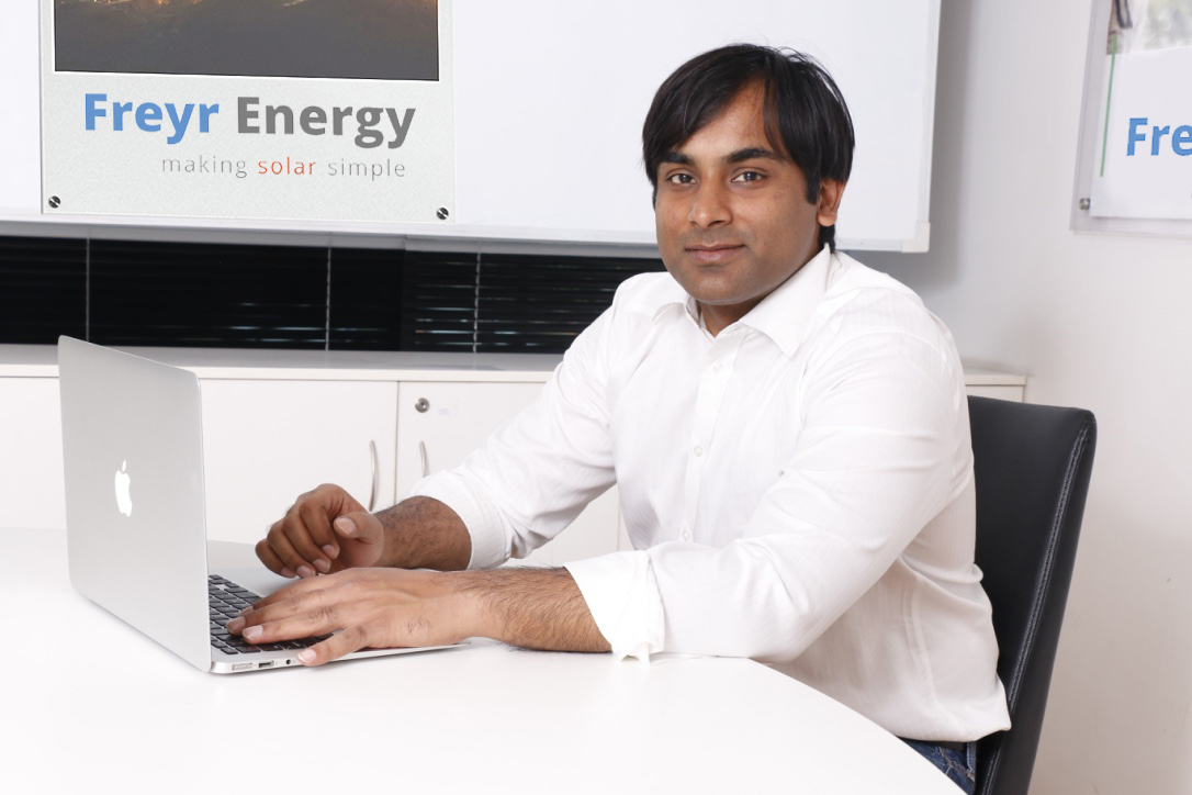 Founder of Freyr Energy - Saurabh Marda