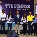 Student Startup idea 'MyFo' wins TiE – TYE Summer Innovation 2018 Challenge; Team 'OROME' declared runners up