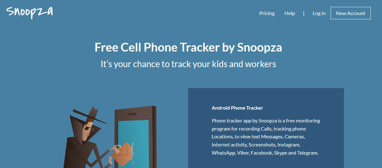 Snoopza – A Free Cell Phone Tracker - Start-Up Hyderabad