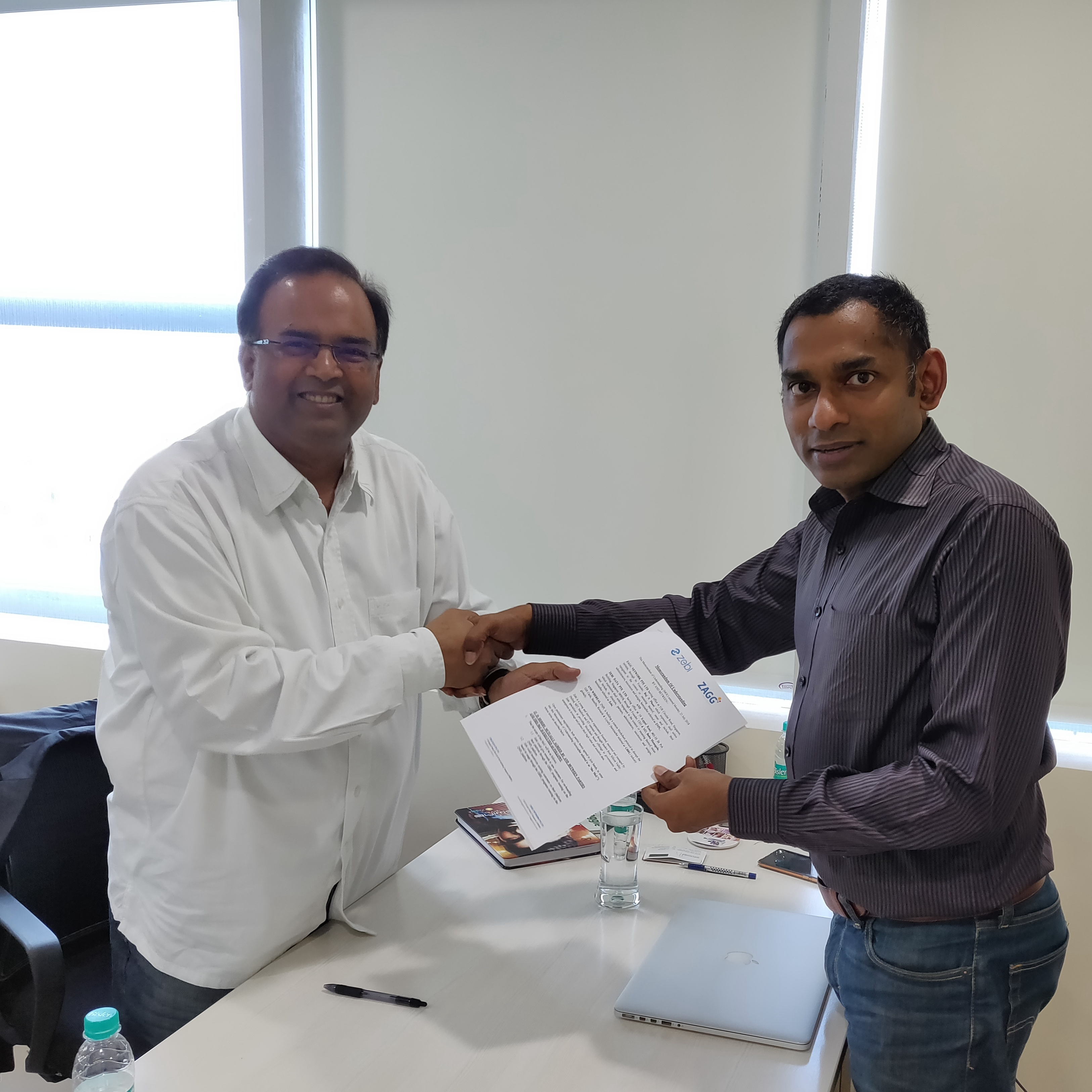 Raj N Phani,Founder, ZAGG Protocol _Mr. Babu Munagala, Founder, CEO & MD, Zebi