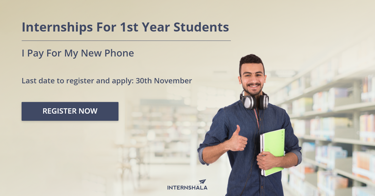 Second Edition of Internships for 1st Year Students
