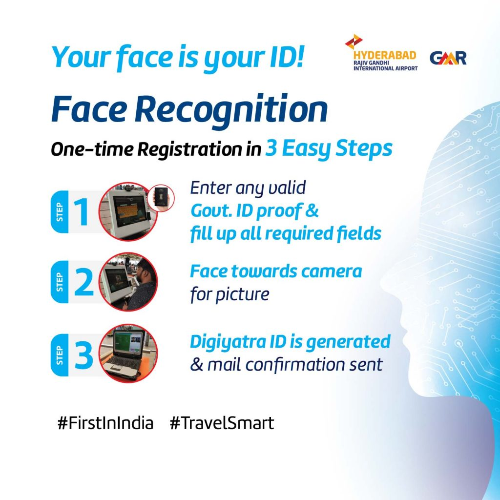 Hyderabad Airport (RGIA) Kick-starts Face Recognition Trials for