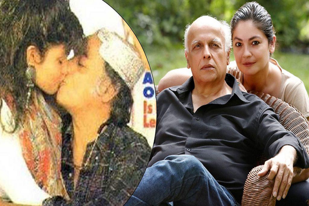 Mahesh Bhatt & Pooja Bhatt